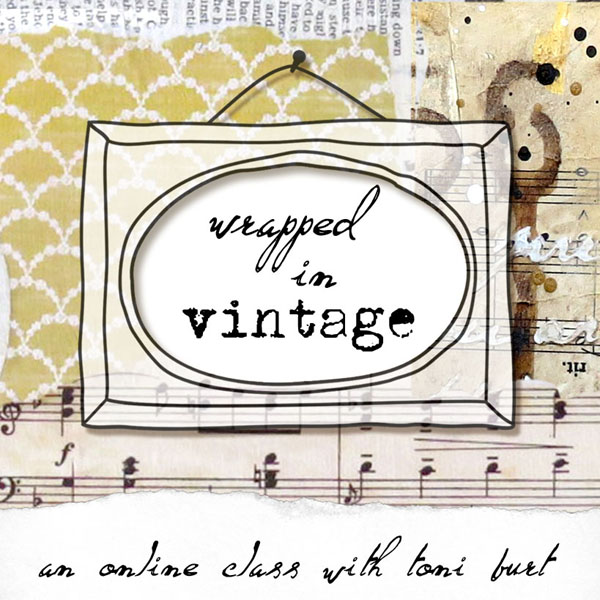 wrapped in vintage