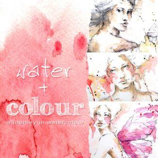 water plus colour
